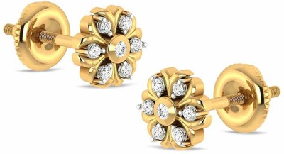 Rockrush Earrings Yellow Gold 14kt Stud Earring