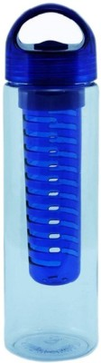 Luxula Fruit Mixer Water Bottle 700 ml Bottle(Pack of 1, Blue, Plastic)