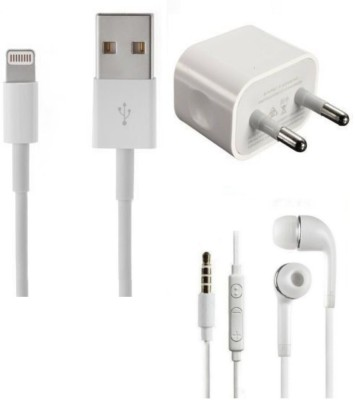 Original Wall Charger Accessory Combo for iphone 6,6s, apple 5,5s and iphone 7,8,X(White)