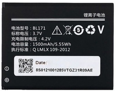 Ekon Mobile Battery For Lenovo Rocstar A319 BL171   1500mAh