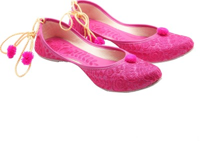 Royal Collection Beautiful Jutis For Women(Pink)