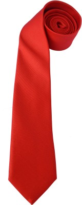 Wholesome Deal Red001 Solid Men Tie
