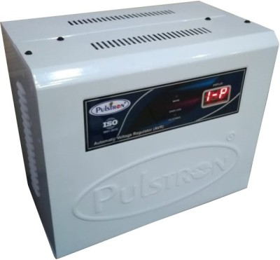 PULSTRON PTI WM3520D 3 KVA Double/Single Phase Automatic Mainline Voltage Stabilizer  90V 520V  White