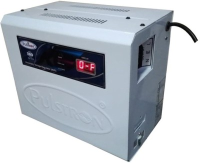 PULSTRON PTI WM4135B 4 KVA  135V 290V  Single Phase With Bypass Automatic Mainline Voltage Stabilizer Light Grey