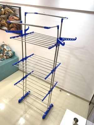 TNC Steel Floor Cloth Dryer Stand JUMBO-01(3 Tier)
