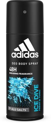 ADIDAS Ice Dive Deodorant Deodorant Spray  -  For Men  (150 ml)