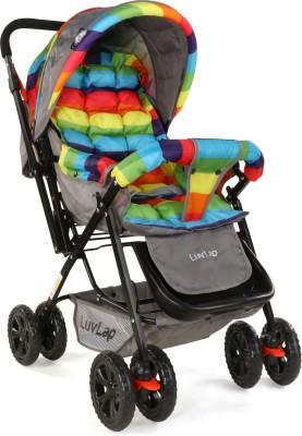 LuvLap Sunshine Baby Stroller - Stripes Stroller(Multi, Multicolor)