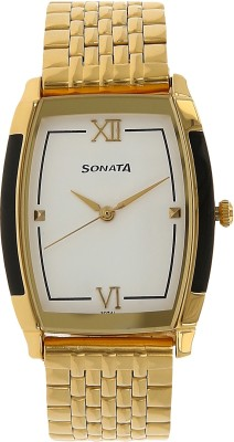 Sonata NH7080YM01C Analog Watch (NH7080YM01C)