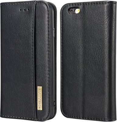 Heavy duty Wallet Case Cover for Apple iPhone 6, Apple iPhone 6S(Black, Cases with Holder)