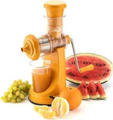 MEZIRE Plastic Hand Juicer ®Fruit & Vegetable Juicer(Orange Pack of 1)