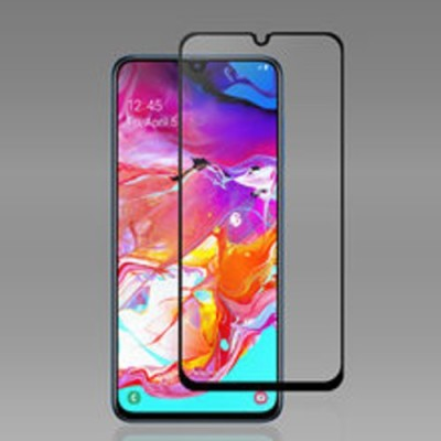 Jabox Edge To Edge Tempered Glass for Samsung galaxy A70(Pack of 1)