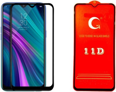 Ultra Clear Edge To Edge Tempered Glass for Mi Redmi Note 6 Pro (11D Tempered Glass)(Full Glue)(Pack of 1)