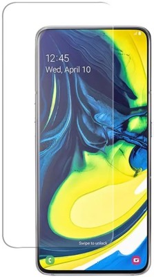 CHVTS Tempered Glass Guard for Samsung Galaxy A80(Pack of 1)