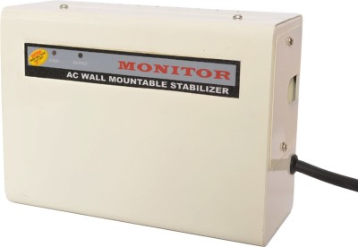 Monitor 4 KVA For 1.5 Ton AC Voltage Stabilizer With 5   Year Warranty   100% Copper   White