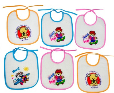 Crack4Deal Baby Feeding Bibs Multicolor