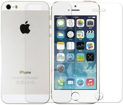 SOFEY Screen Protector Accessory Combo for iPhone 5/5S/5C (Front & Back)(Transparent)