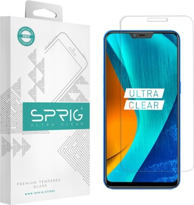 Sprig Tempered Glass Guard for OPPO A5, Oppo A3s, Realme 2, Realme C1(Pack of 1)