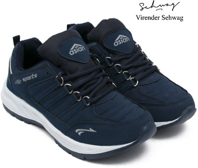Asian Coscos Sports Shoes,Running Shoes,Walking Shoes,Training Shoes, Running Shoes For Men(Navy, Blue)