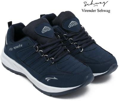 Asian Cosko Sports Shoes,Running Shoes,Walking Shoes,Training Shoes, Running Shoes For Men(Navy, Blue)