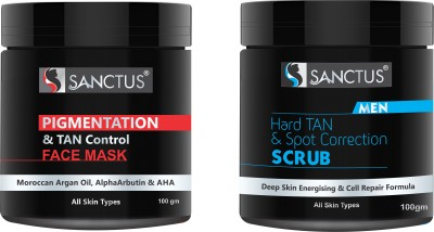 SANCTUS TAN REMOVAL KIT(2 Items in the set)