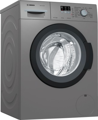 Bosch 6.5 kg Fully Automatic Front Load with In-built Heater Grey
