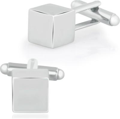 MensLook Alloy Cufflink Set(Silver)