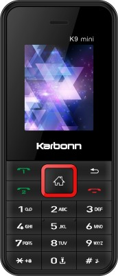 Karbonn K9 Mini Black Red Karbonn Mobiles