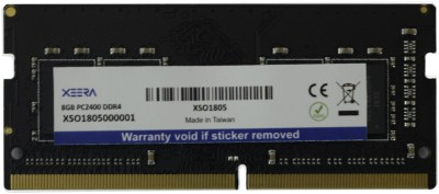 xeera SODIMM DDR4 DDR4 8 GB Laptop SODIMM (XSO1805) at flipkart