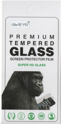 Nine H Tempered Glass Guard for Karbonn Aura Champ(Pack of 1)