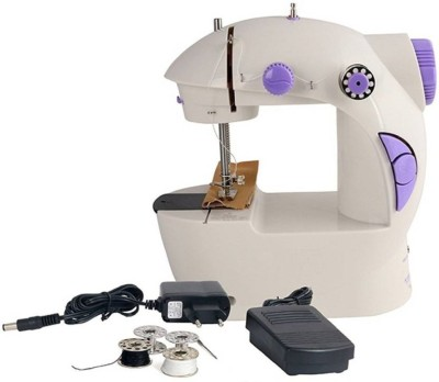 QUALIMATE New New Mini 4in1 Electric Sewing Machine Electric Sewing Machine( Built-in Stitches 12)