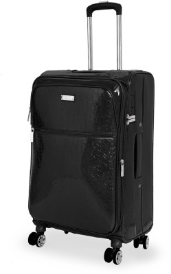 Calvin Klein Impression Expandable  Check-in Luggage - 26 inch(Black)