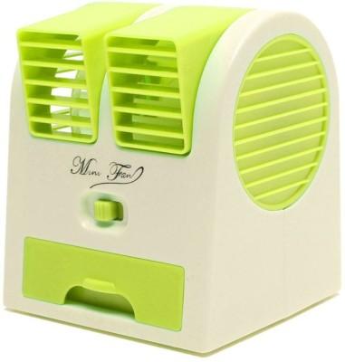 Ever Forever Mini Portable Perfume Turbine Air Cooling Fan Multicolor USB Fan(Multicolor)