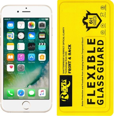 Roxel Front and Back Screen Guard for Apple iPhone 6 (Gold, 128 GB)(Pack of 1)