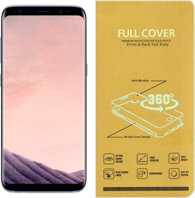Roxel Front and Back Screen Guard for Samsung Galaxy S7 (Black Onyx, 32 GB) (4 GB RAM)(Pack of 1)