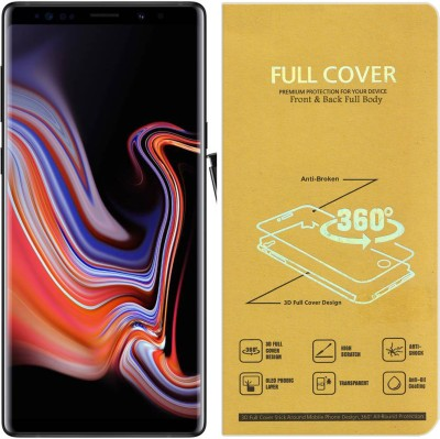 Roxel Front and Back Screen Guard for Samsung Galaxy Note 9(Pack of 1)