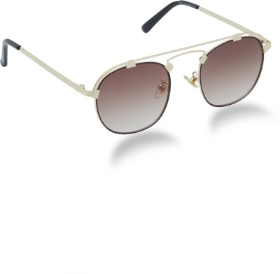 Chemistry Aviator Sunglasses(Brown)