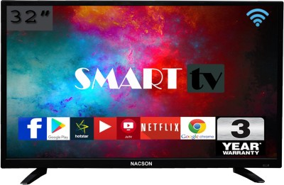 Nacson Series 8 80cm (32 inch) HD Ready LED Smart TV(NS8016 Smart) at flipkart