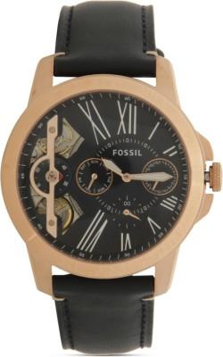Fossil ME1162 Townsman Navy Blue & Black Analog Men's Watch (ME1162)