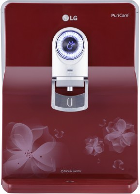 LG WW172EP 8 L RO + UV Water Purifier with Stainless Steel Tank(Red)