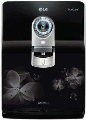 LG WW182EP 8 L RO + UV + UF Water Purifier with Stainless Steel Tank(Black)