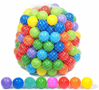 Dhavesai Colorful Balls For Kids Play, set of 24 pcs 8 CM each(48 g)