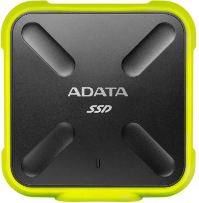 ADATA 256 GB External Solid State Drive(Yellow)
