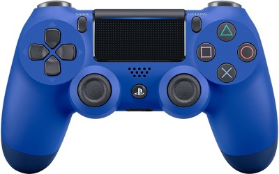 Sony PS4 Dualshock Cont Wave - V2 (Blue)  Joystick(Blue, For PS4) at flipkart