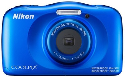Nikon Coolpix W150(13.2 MP, 3x Optical Zoom, Upto 4x Digital Zoom, Blue)
