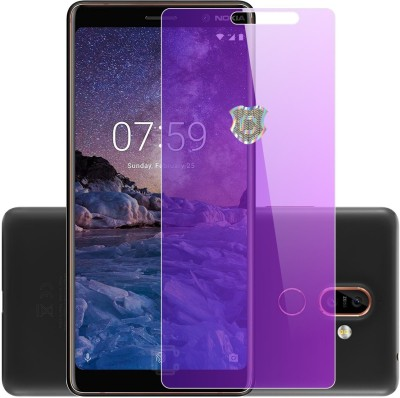 Case Creation Tempered Glass Guard for Nokia 7 Plus(Pack of 1)