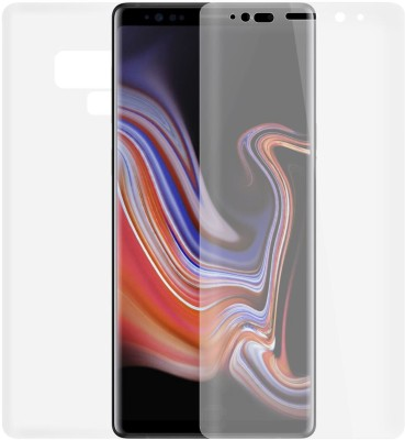 Case Creation Front and Back Screen Guard for Samsung Galaxy Note 9 (2018)(Pack of 2)