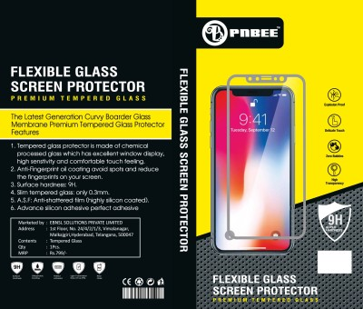 PNBEE Tempered Glass Guard for Lenovo K8 Note-Flaxible Hammer Proof Tempered Glass Screen Protector(Pack of 1)