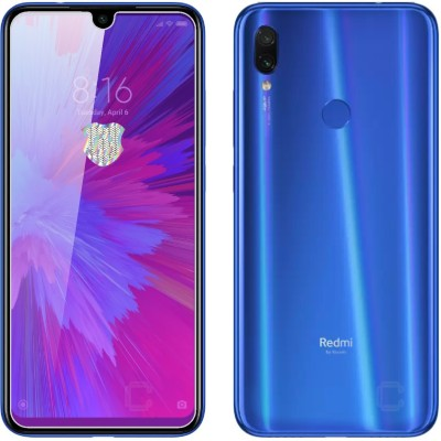 Case Designer Tempered Glass Guard for Xiaomi Redmi Note 7S 6.3-Inch(Pack of 1)