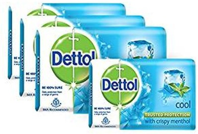 Dettol Cool Soap Epic (*4, Pack of 4) 300G(4 x 75 g)