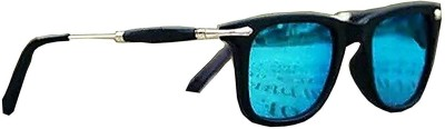 ETRG Aviator Sunglasses(Blue)